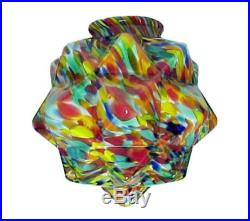 Light Shade End of Day Glass Art Deco Ball Globe Figural Table Lamp Pendant New