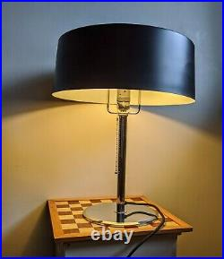 Modernist French Art Deco Table / Desk Lamp Style of Pierre CHAREAU Reproduction